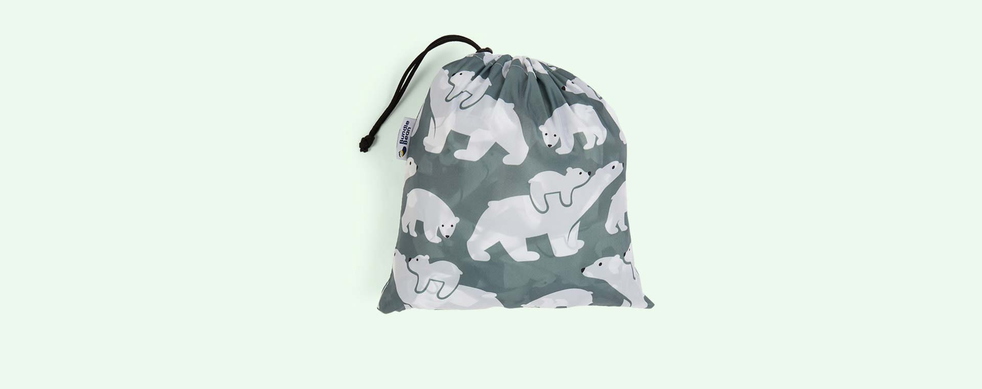 Polar Bear Bundle Bean Baby Wearing Fleece Lined Cover