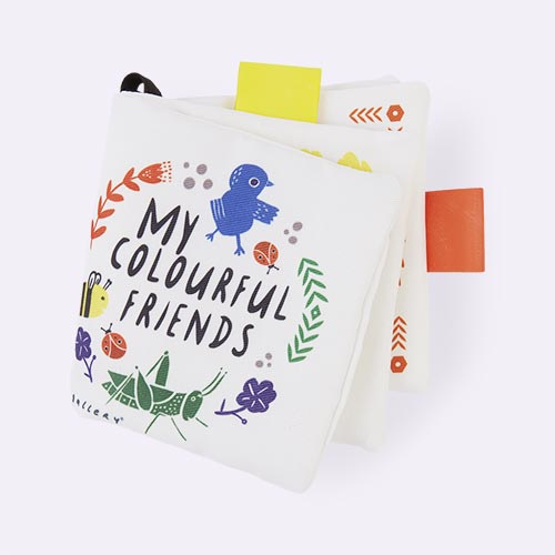 My Colourful Friends Wee Gallery Buggy Book