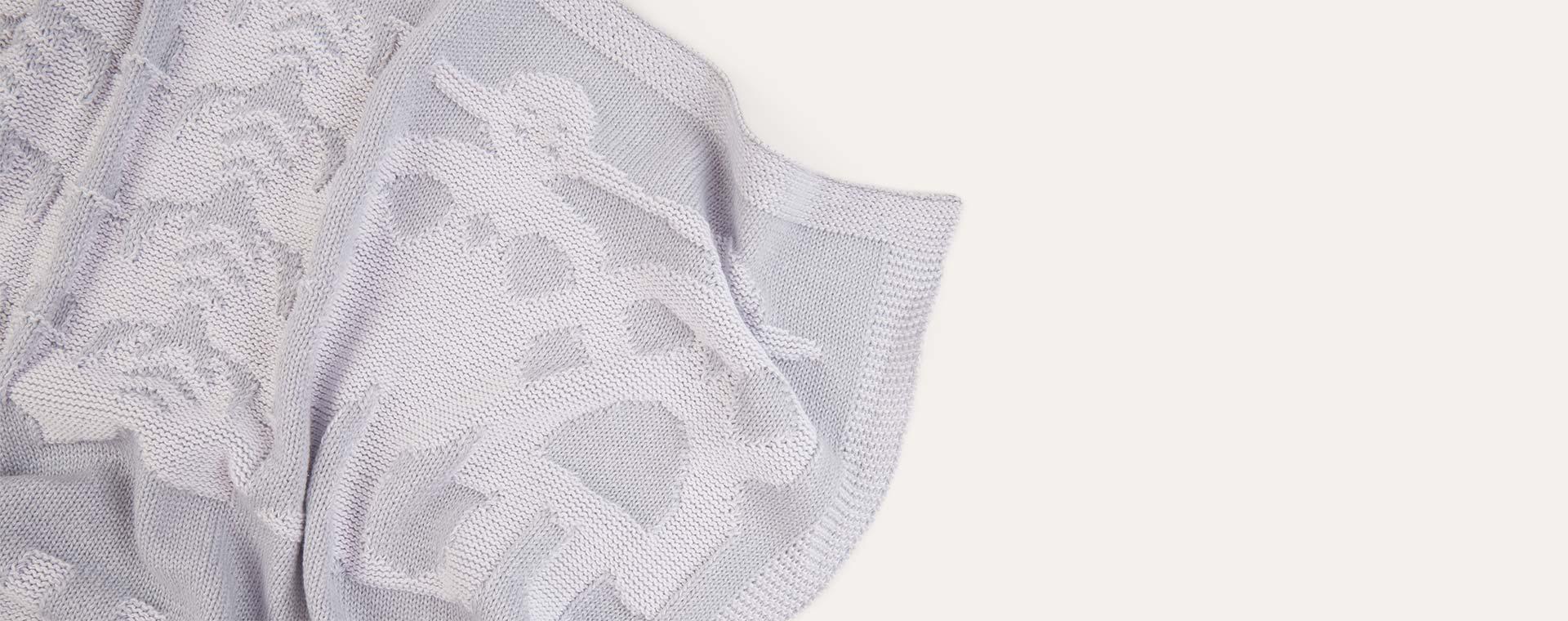 Dream Grey Playroom Interiors Blanket