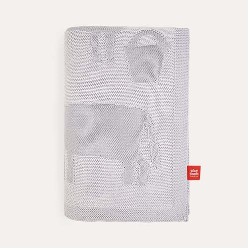 Dream Grey Playroom Interiors Blanket