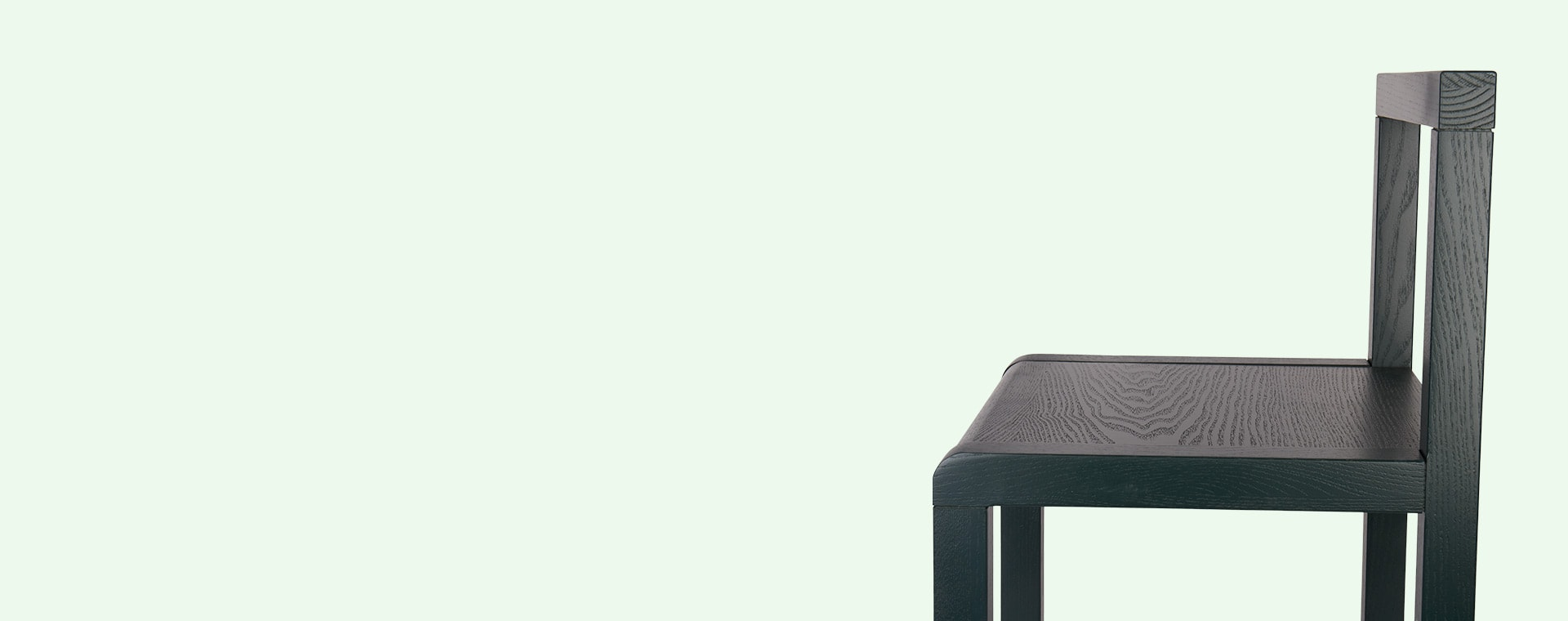 Dark Green Ferm Living Little Architect Chair