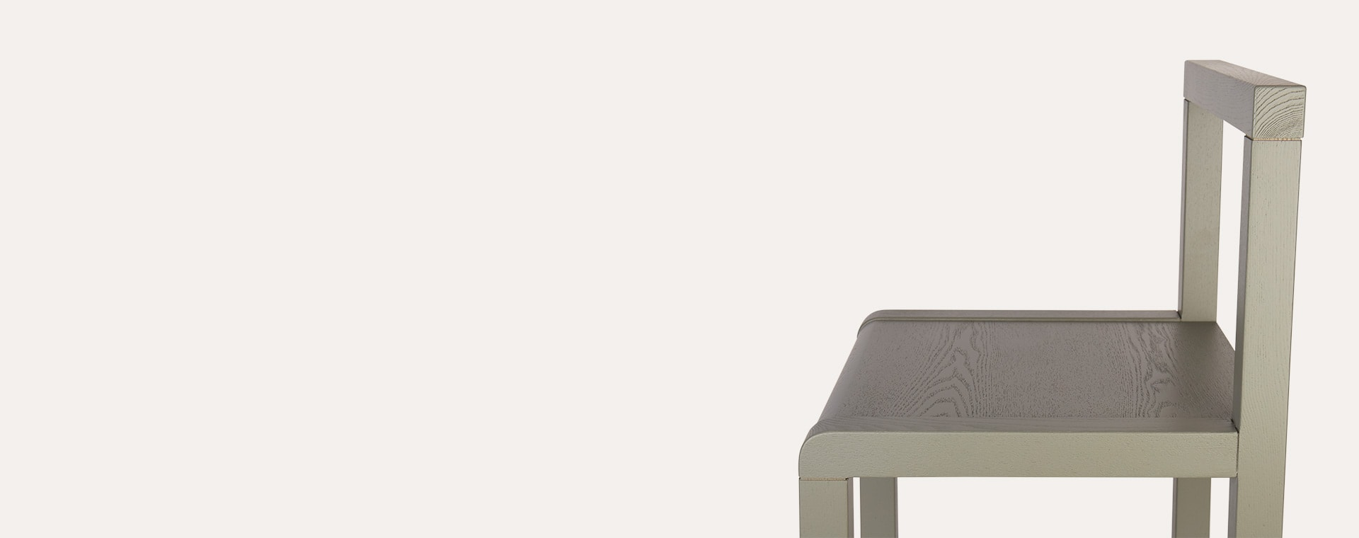 Grey Olive Ferm Living Little Architect Chair