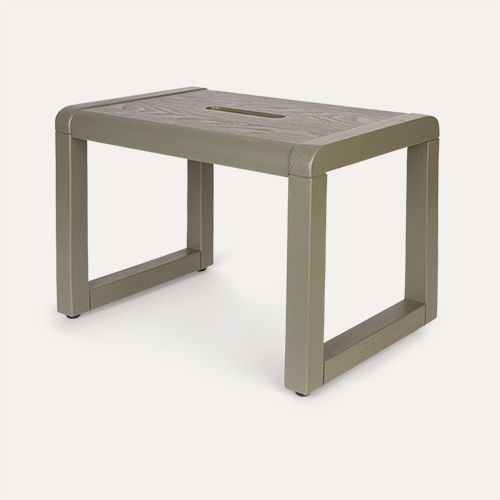 Grey Olive Ferm Living Little Architect Stool