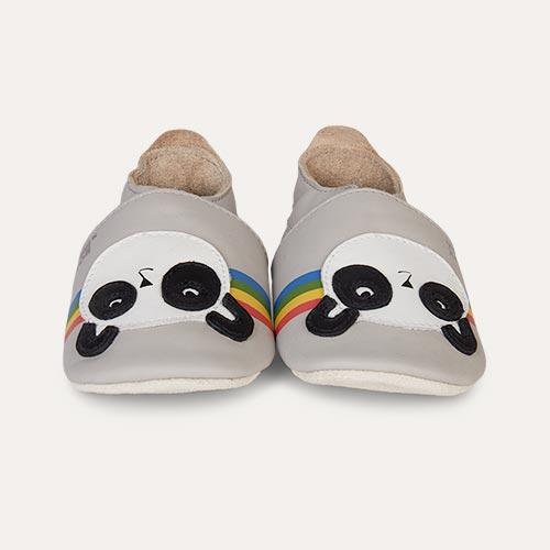 Peace Panda Bobux Bobux x The Bonnie Mob Soft Soles