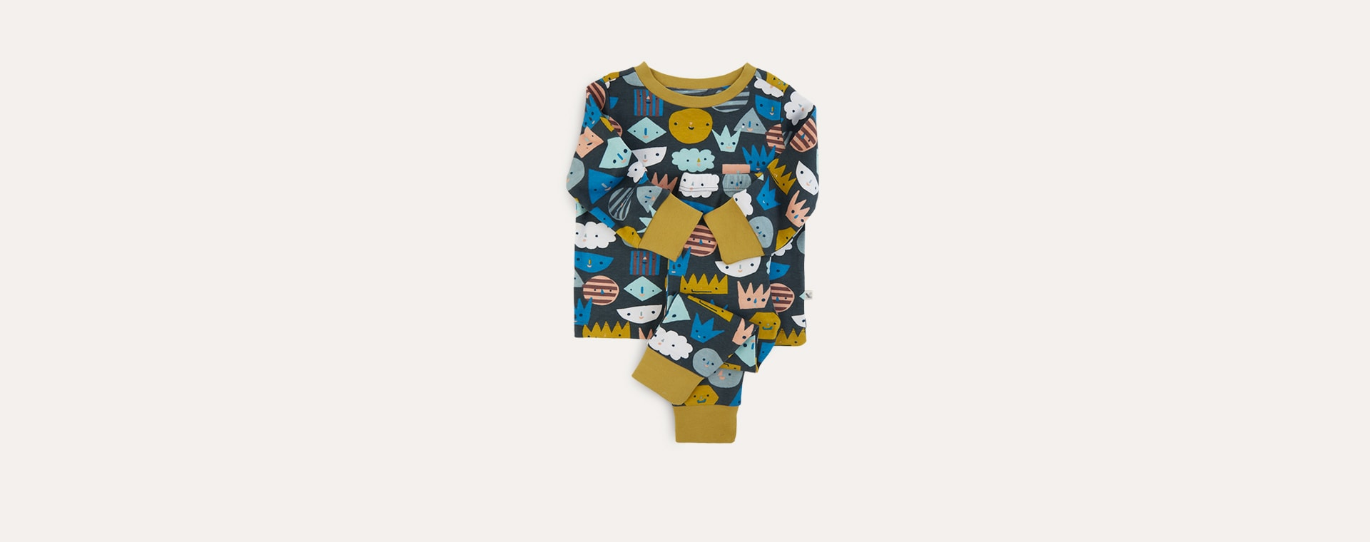 Shapes KIDLY Label Organic Pyjamas