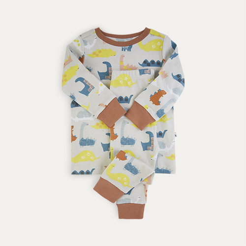 Dino Print KIDLY Label Organic Pyjamas