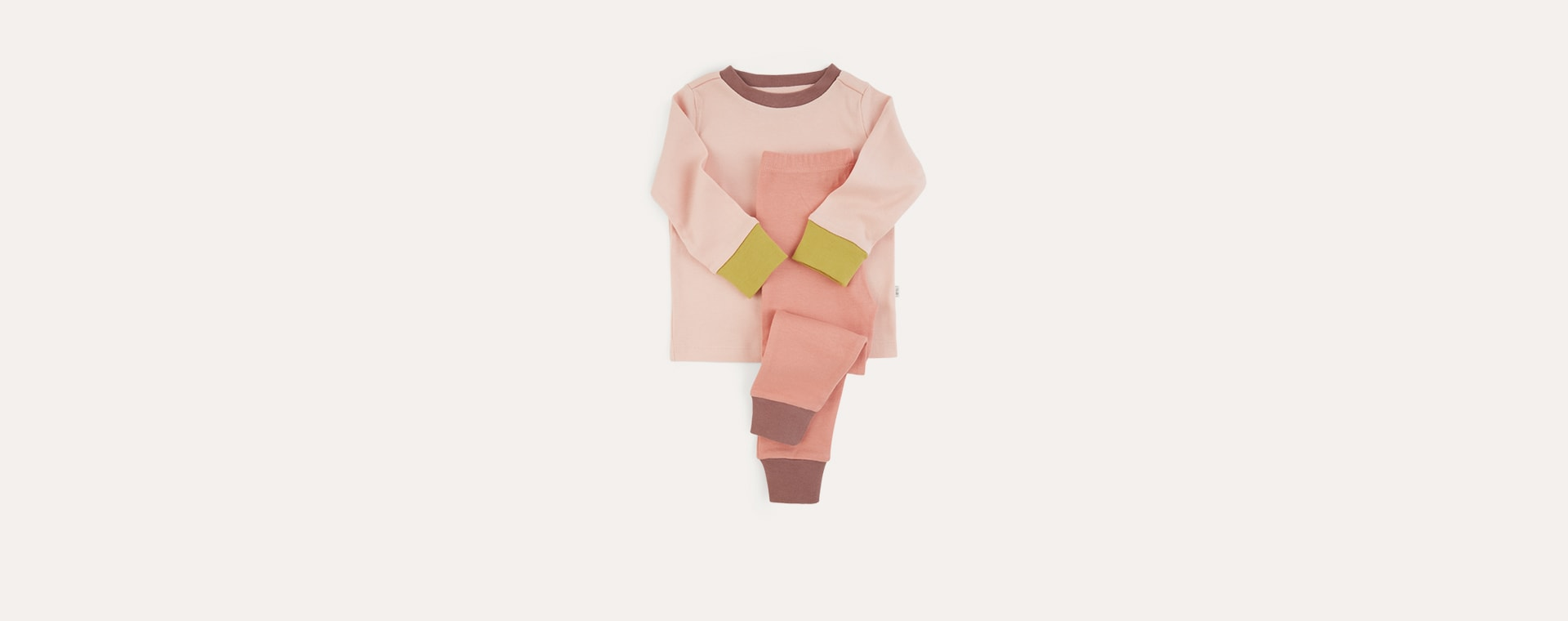 Blush Mix KIDLY Label Organic Pyjamas