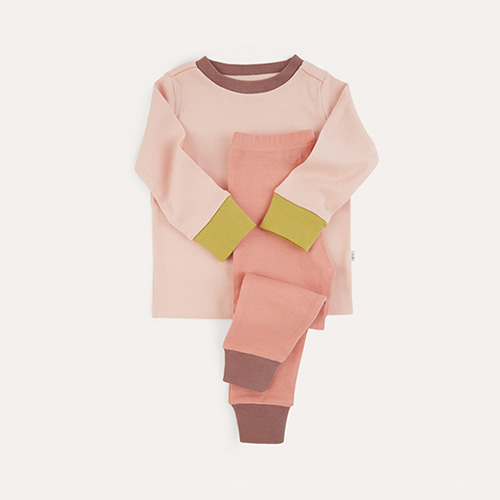Blush Mix KIDLY Label Organic Pyjamas