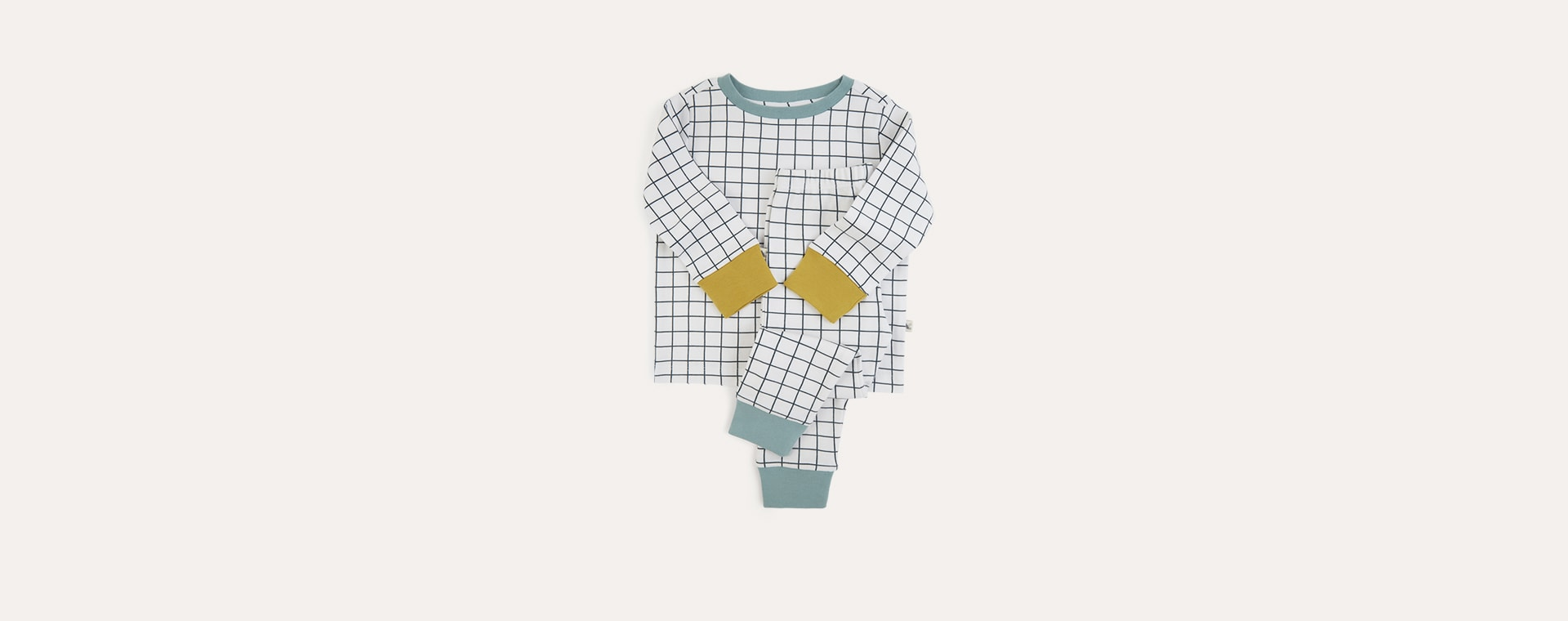 Grid KIDLY Label Organic Pyjamas
