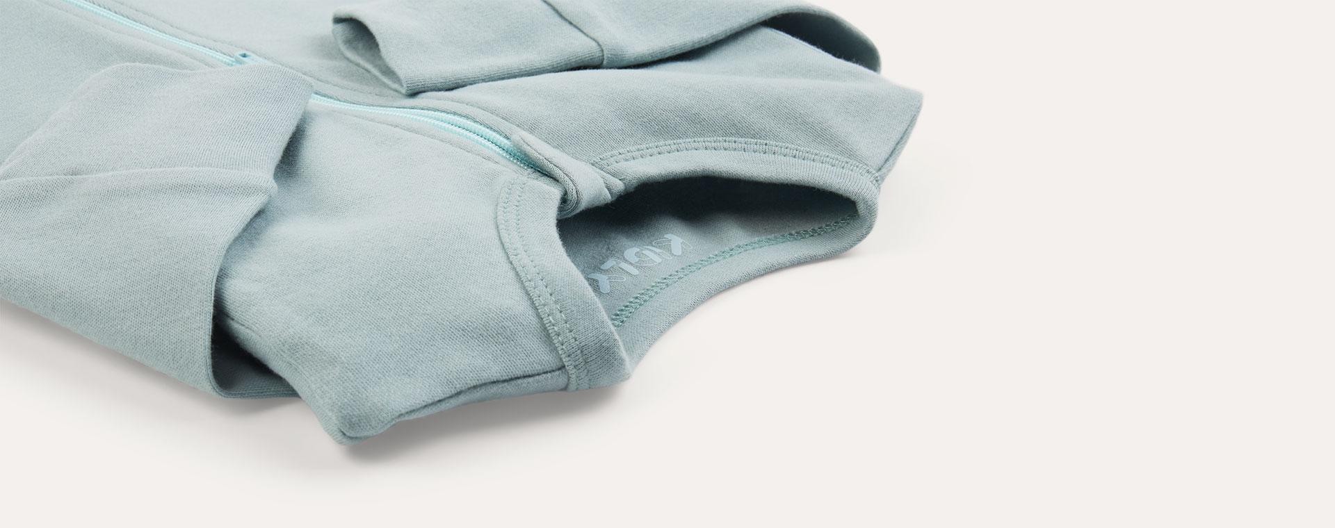 Ocean Mix KIDLY Label Organic Zip Sleepsuit