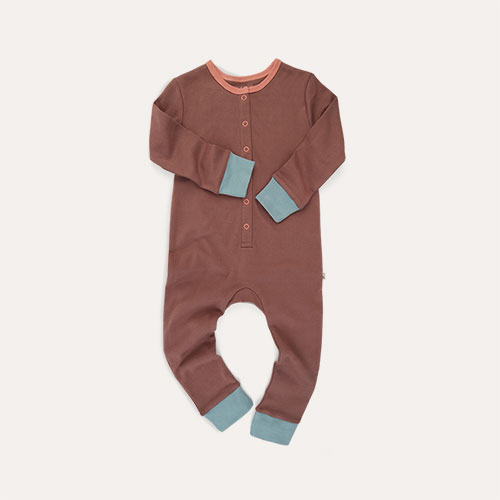Clay KIDLY Label Organic Onesie