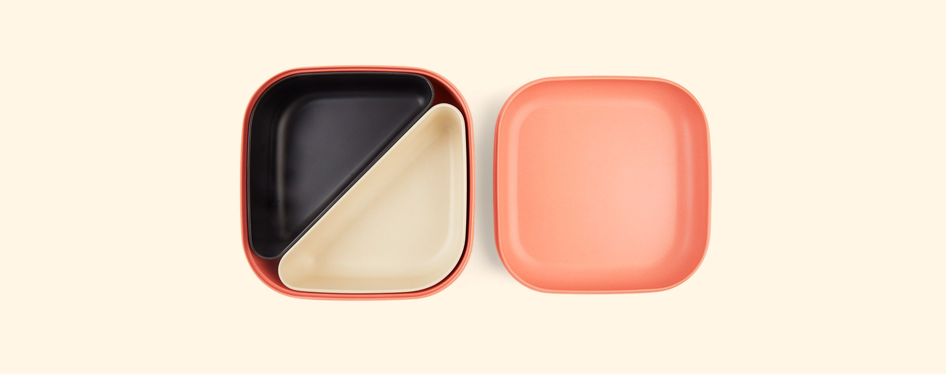Coral EKOBO Go Bento Lunch Box