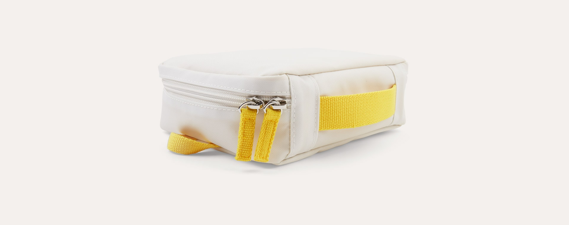 White / Lemon EKOBO Go Repet Lunch Bag