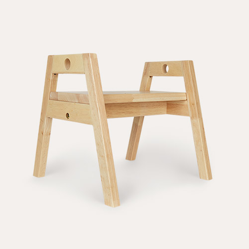 Neutral Kid's Concept Adjustable Step Stool And Seat