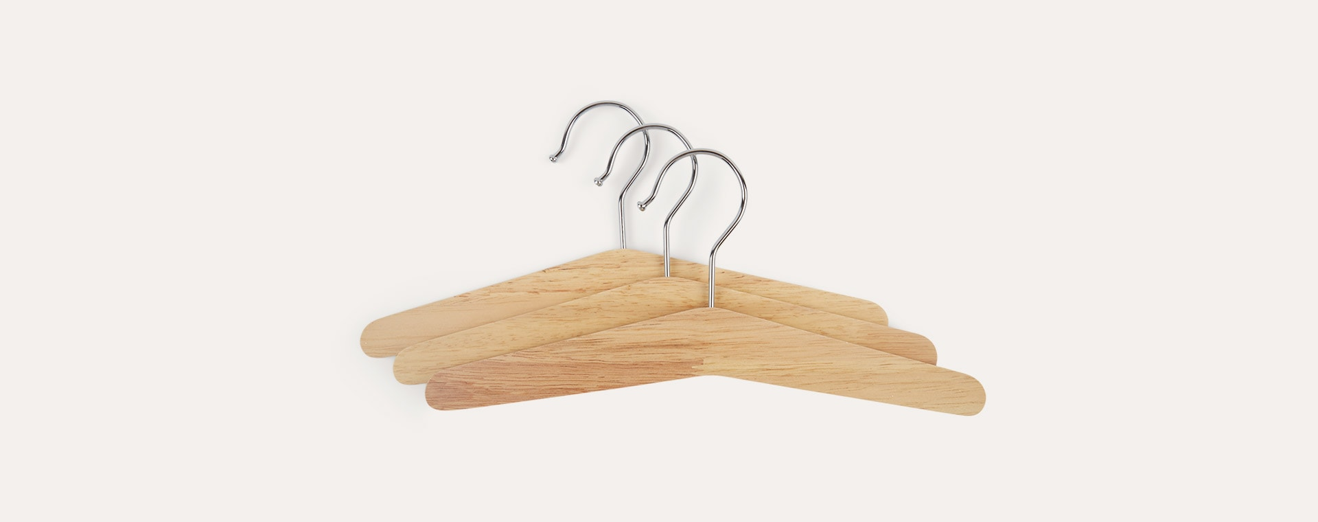 Neutral Kid's Concept Coat Hanger 3 Pack SAGA