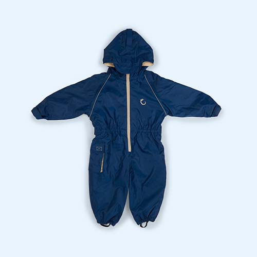 Navy Hippychick Fleece Lined All-In-One