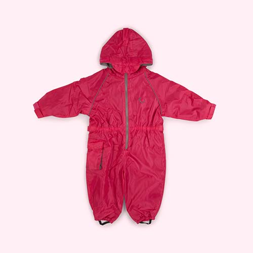 Pink Hippychick Fleece Lined All-In-One