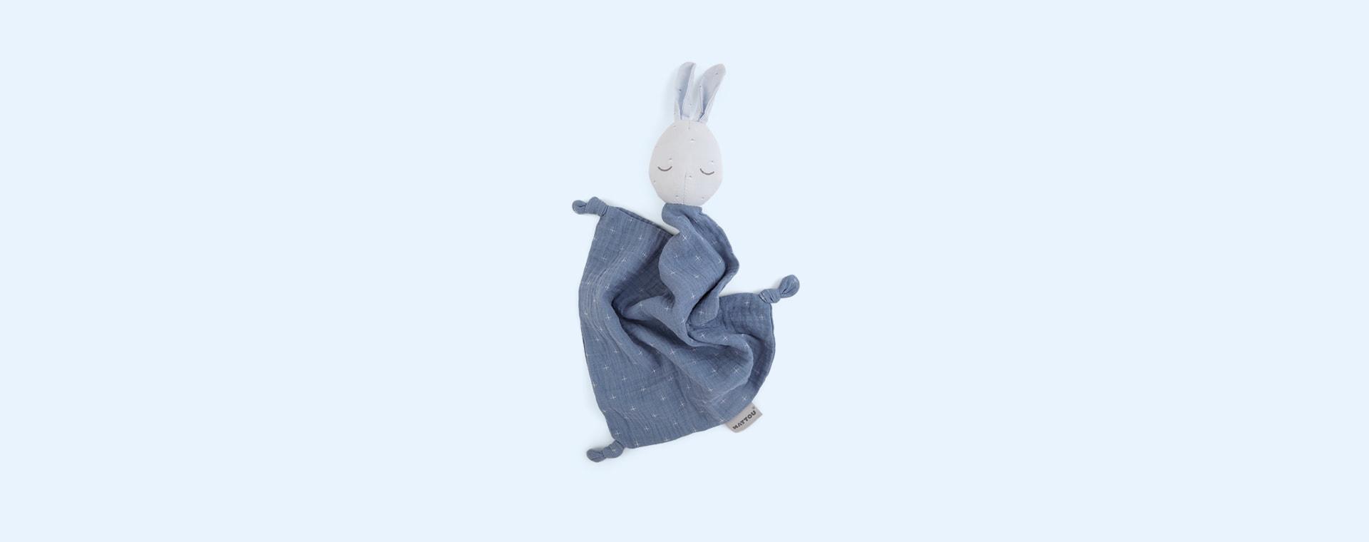 Blue Nattou Pure Doudou Bunny