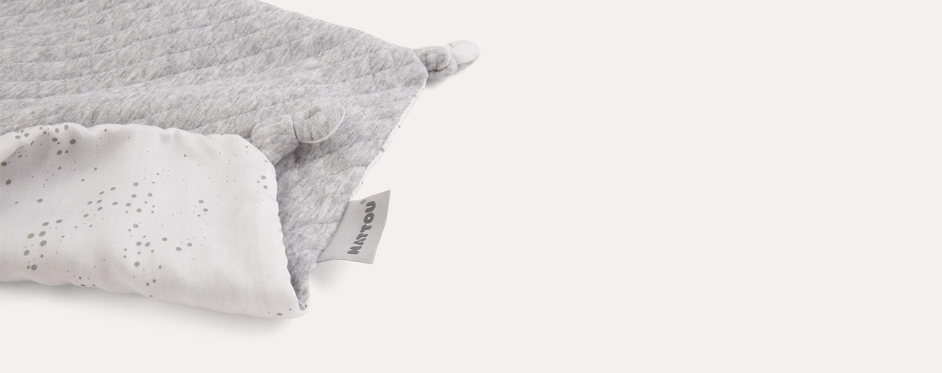 Grey Nattou Pure Doudou Bunny