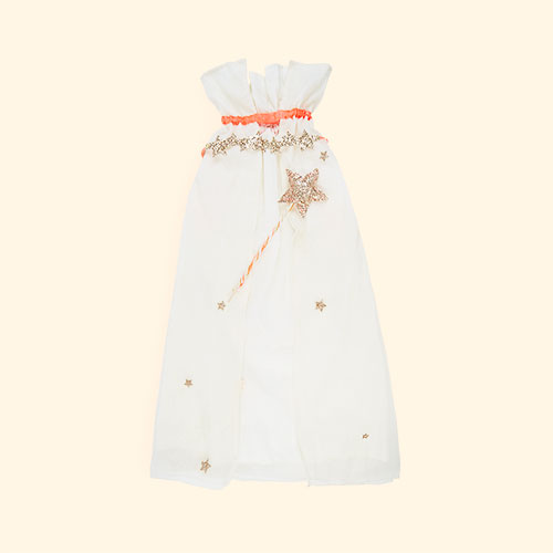 Cream Meri Meri Glitter Princess Dress Up Kit