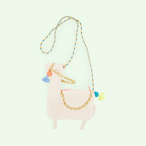 Cream Meri Meri Llama Cross Body Bag