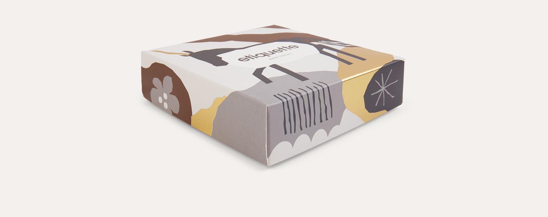 Neutral etiquette Unicorn Baby Socks 3 Pack 0-12m