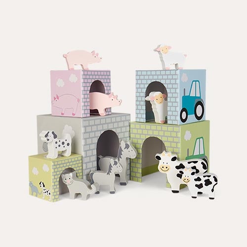 Multi Jabadabado Stacking Cubes Animal