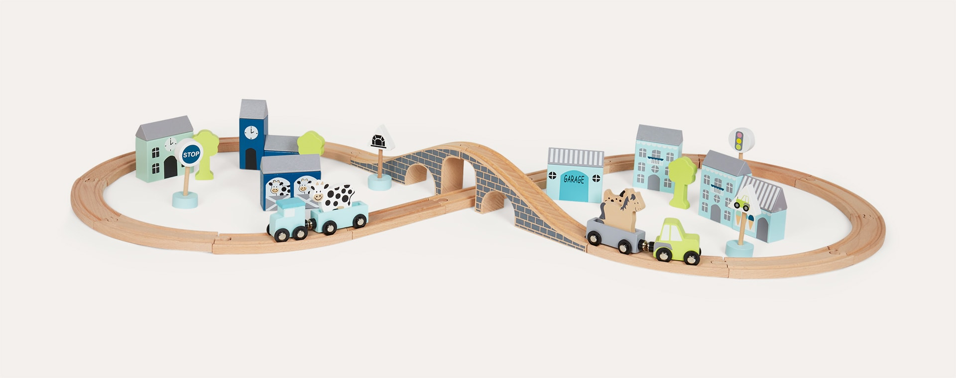 Blue Jabadabado Car And Road Set