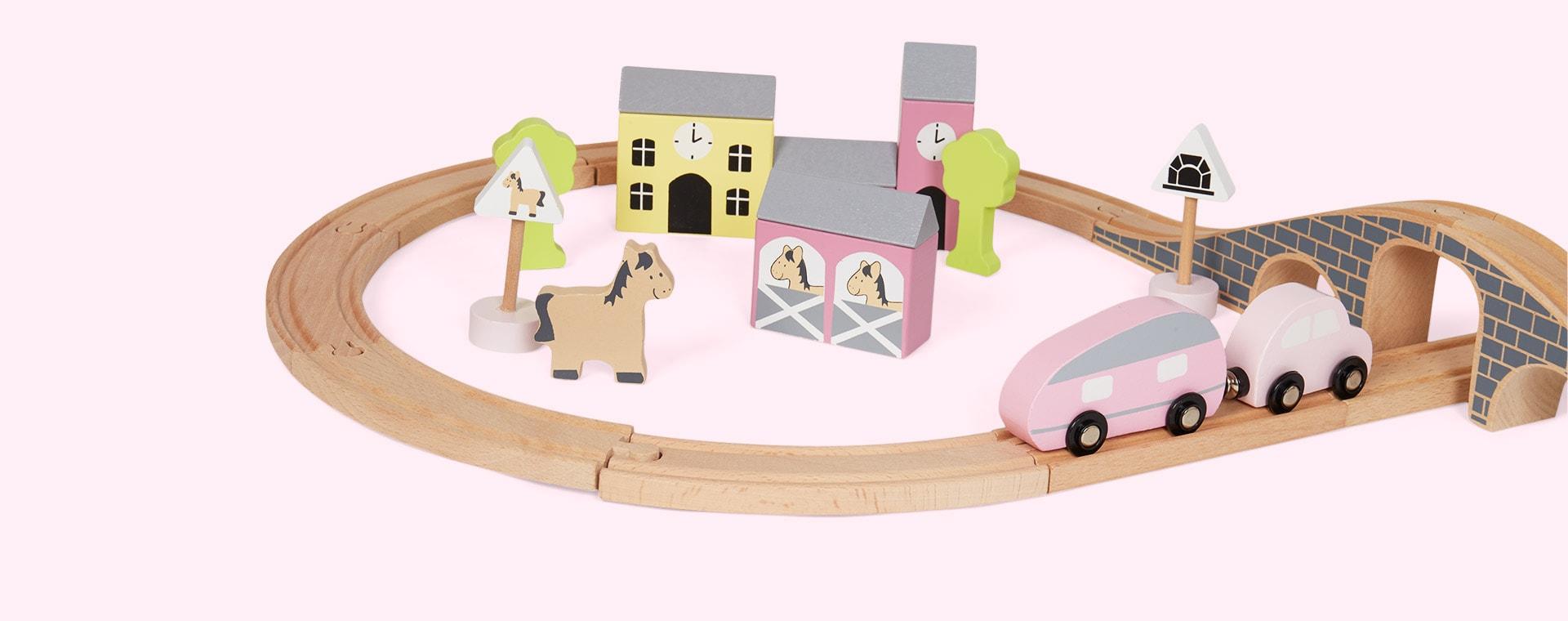 Pink Jabadabado Car Set