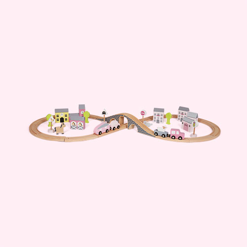 Pink Jabadabado Car Set