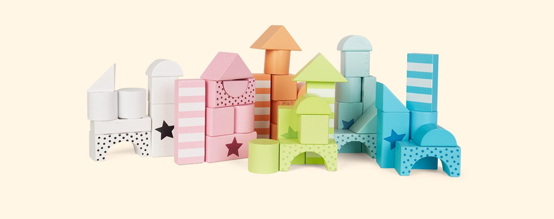 Multi Jabadabado Building Blocks Colour Line