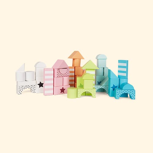 Multi Jabadabado Building Blocks Colour Line