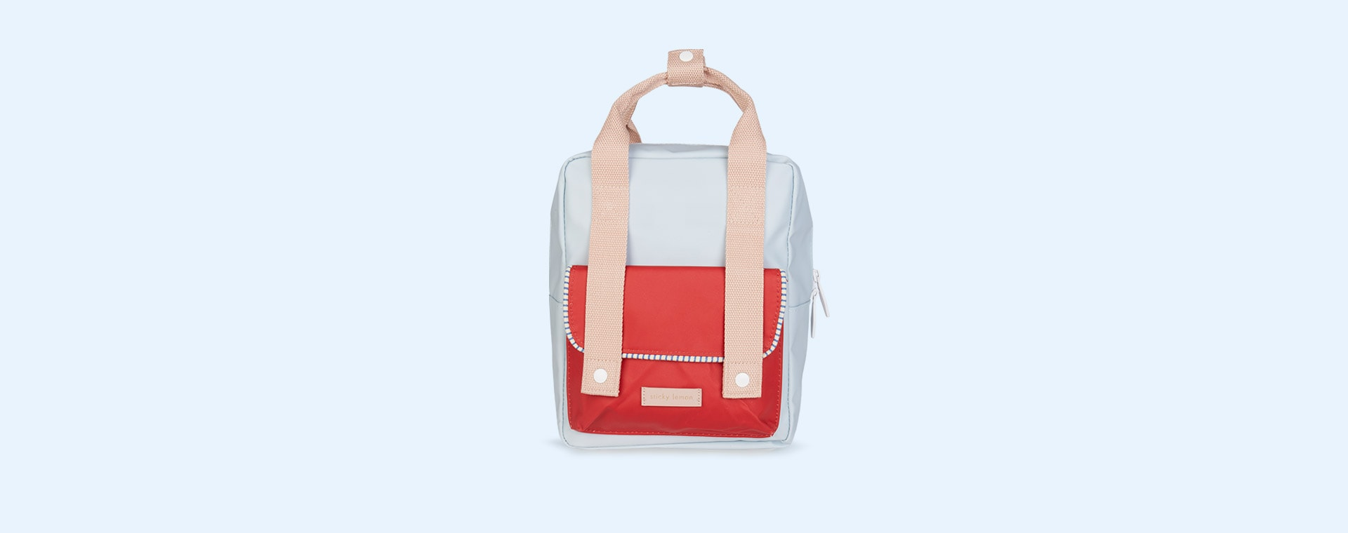 Blue/Red/Pink Sticky Lemon Small Deluxe Backpack