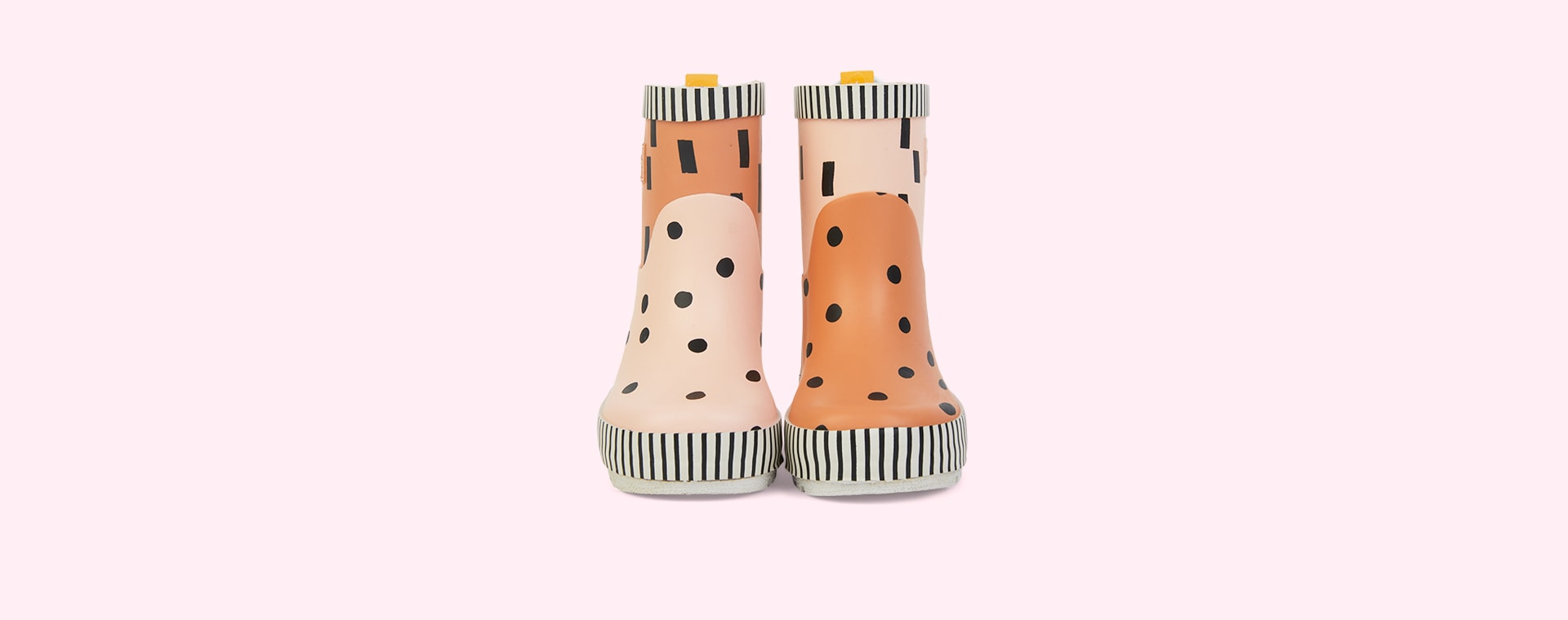 Candy Pink + Faded Orange Sticky Lemon Special Edition Boots