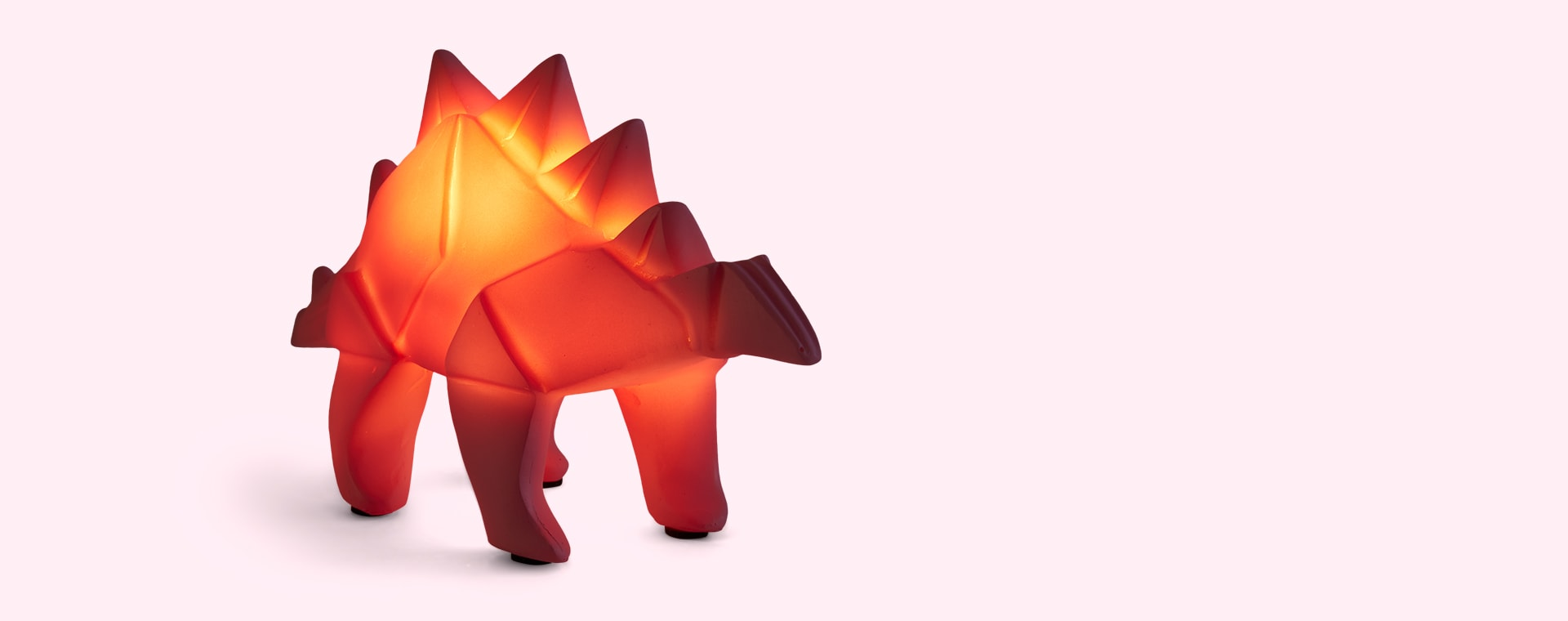 Stegosaurus House of Disaster Origami Dinosaur LED Lamp