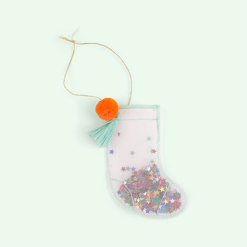 Stocking Meri Meri Shaker Tree Decorations