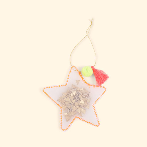 Star Meri Meri Shaker Tree Decorations