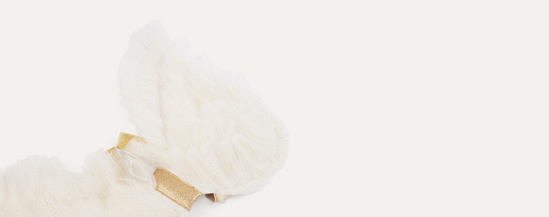 White Meri Meri Tulle Angel Wings Dress Up