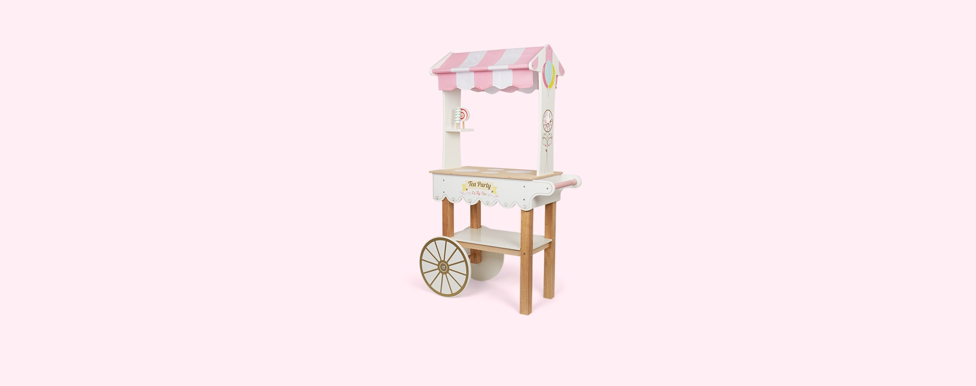 White Le Toy Van Tea & Treats Trolley