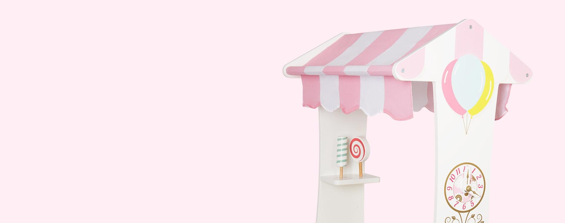White Le Toy Van Tea & Treats Trolley