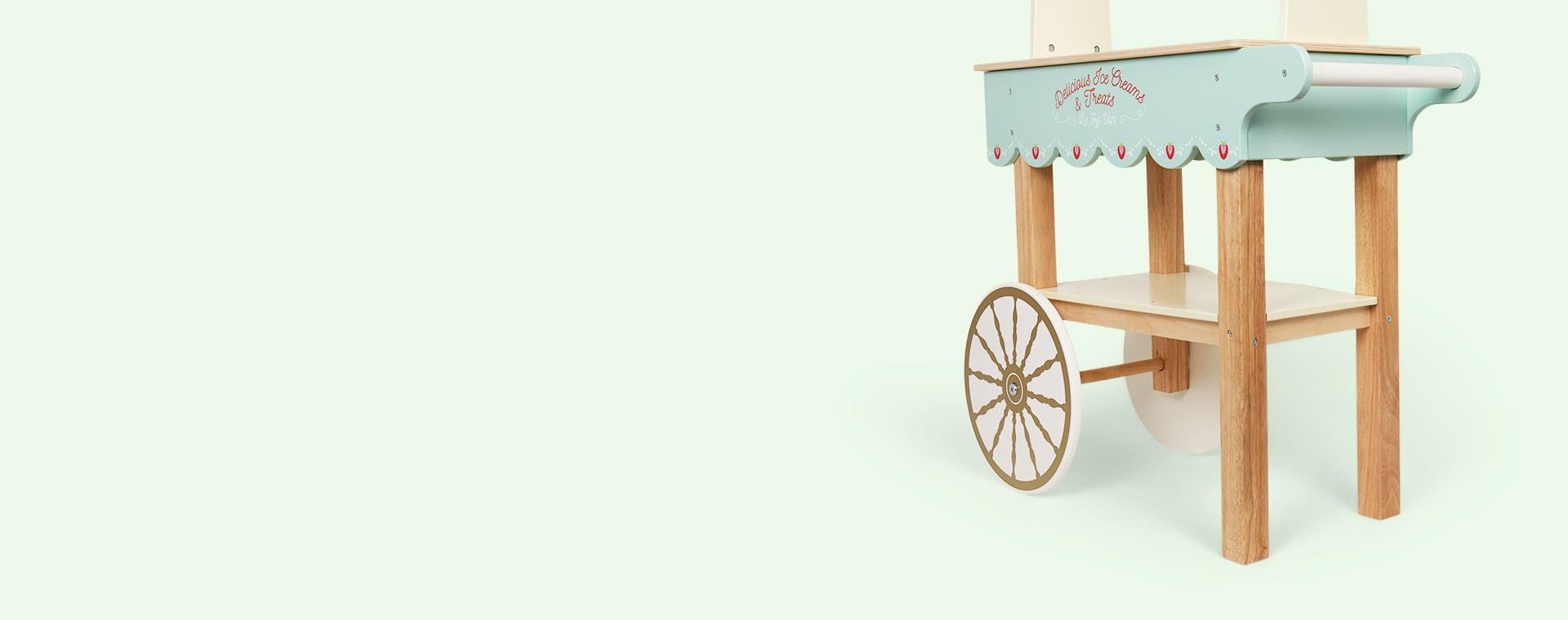 Blue Le Toy Van Ice Cream & Treats Trolley