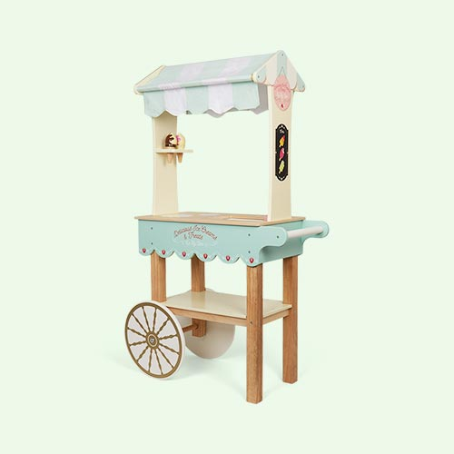 Blue Le Toy Van Ice Cream & Treats Trolley