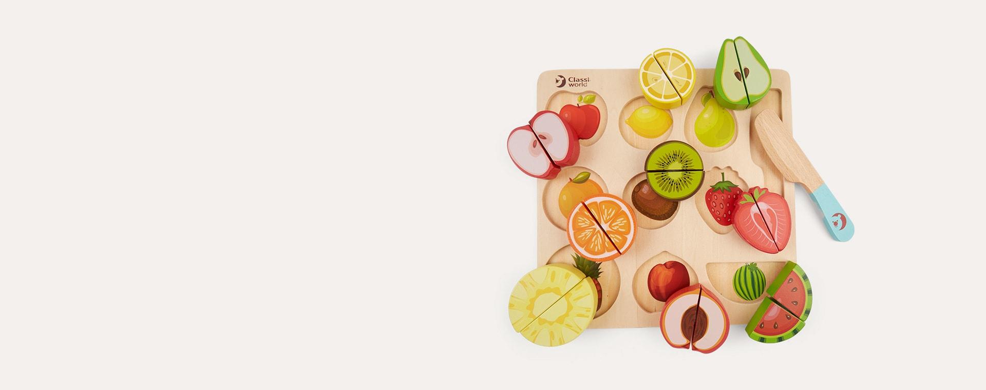 Fruit Classic World Cutting Fruit Puzzle