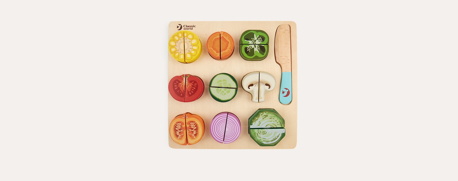 Vegetable Classic World Cutting Vegetable Puzzle