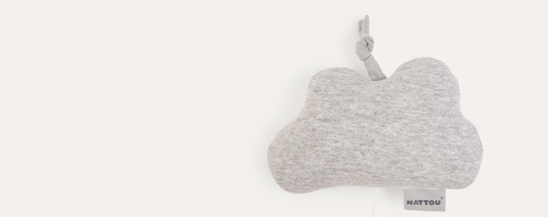 Grey Nattou Nattou Pure Musical Mobile