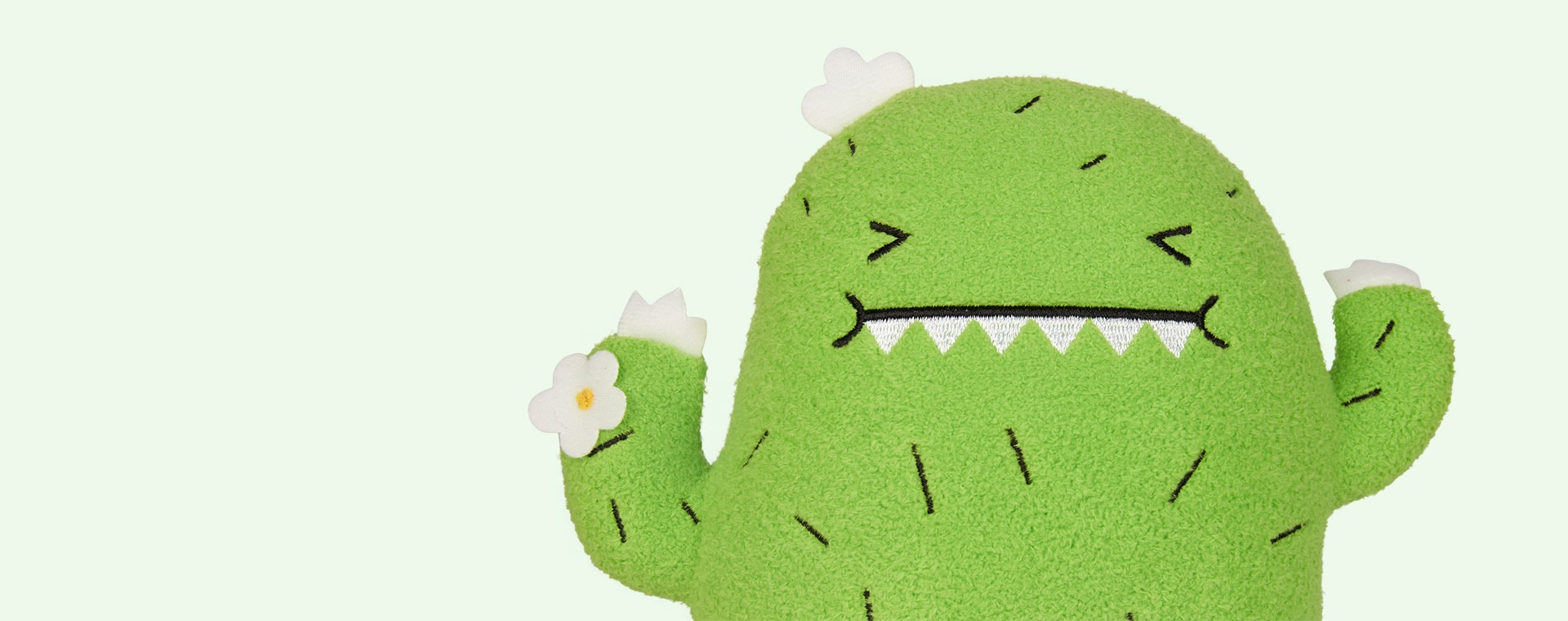 Green Noodoll Riceouch Soft Toy