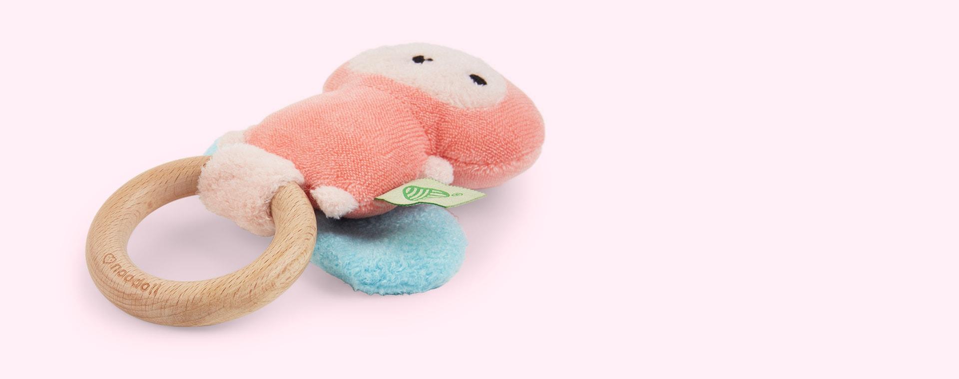 Pink Noodoll Ricebutter Rattle
