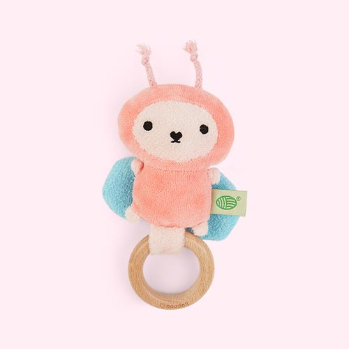 Pink Noodoll Ricebutter Rattle