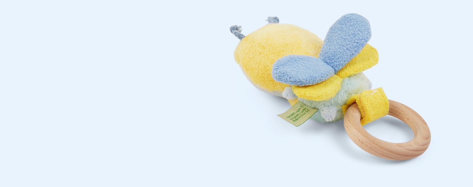 Yellow Noodoll Ricebee Rattle
