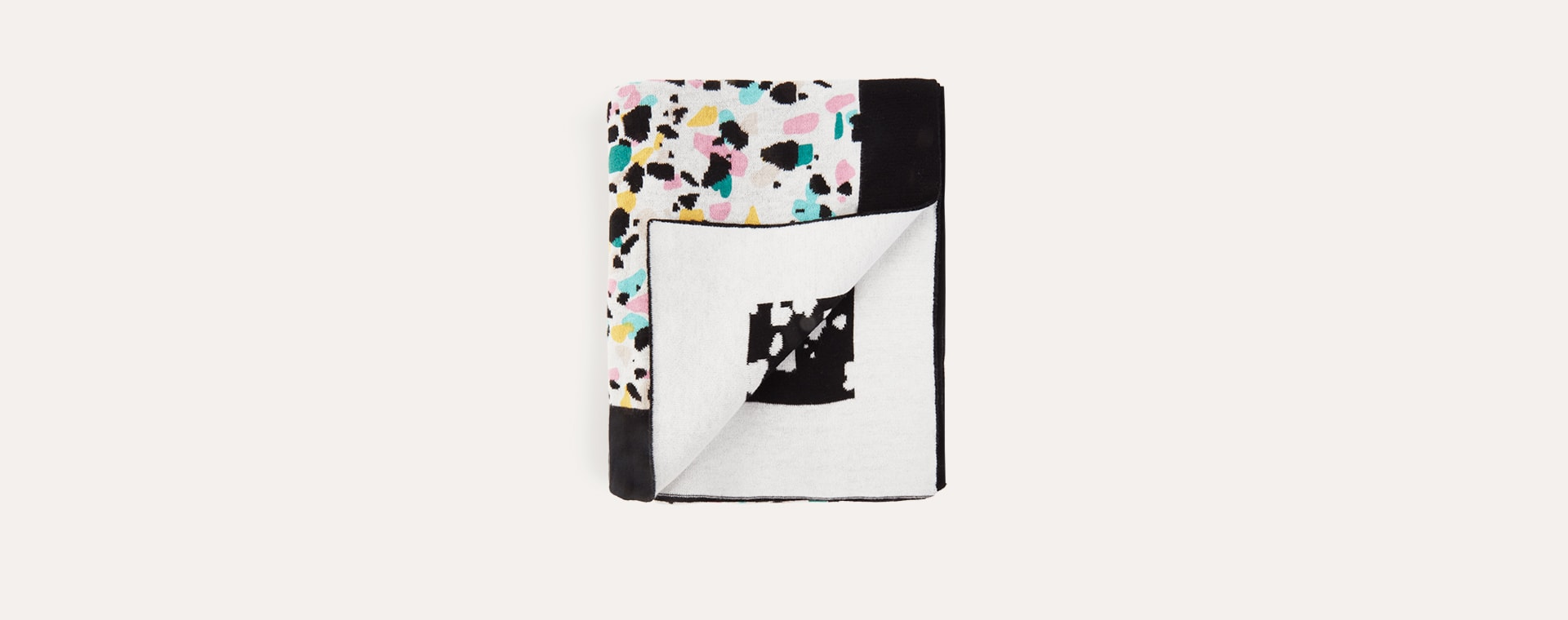Terrazzo Etta Loves Knitted Blanket